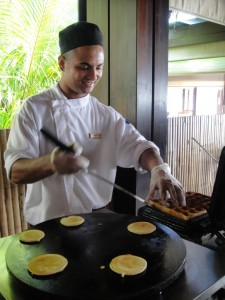 Pin Up En Cuisine 5* Breakfast at THE RESIDENCE MALDIVES