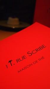 LE CAFE de l' hotel Scribe